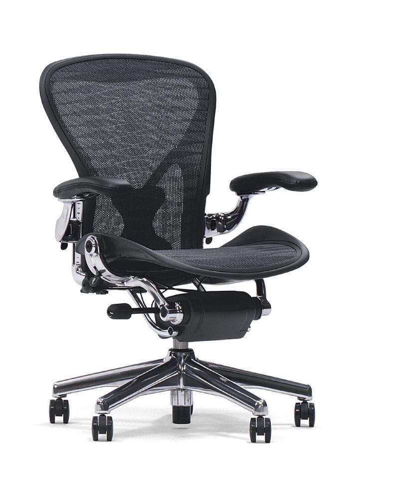 box open support basic arms graphite carbon tilt finish frame size standard miller base chair c aeron herman adjustable chassis back